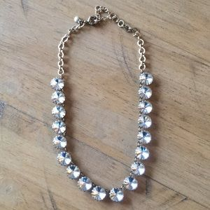 Jcrew Crystal Statement Necklace